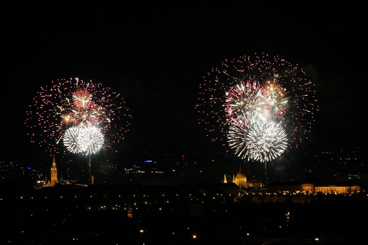 Budapest - Fireworks